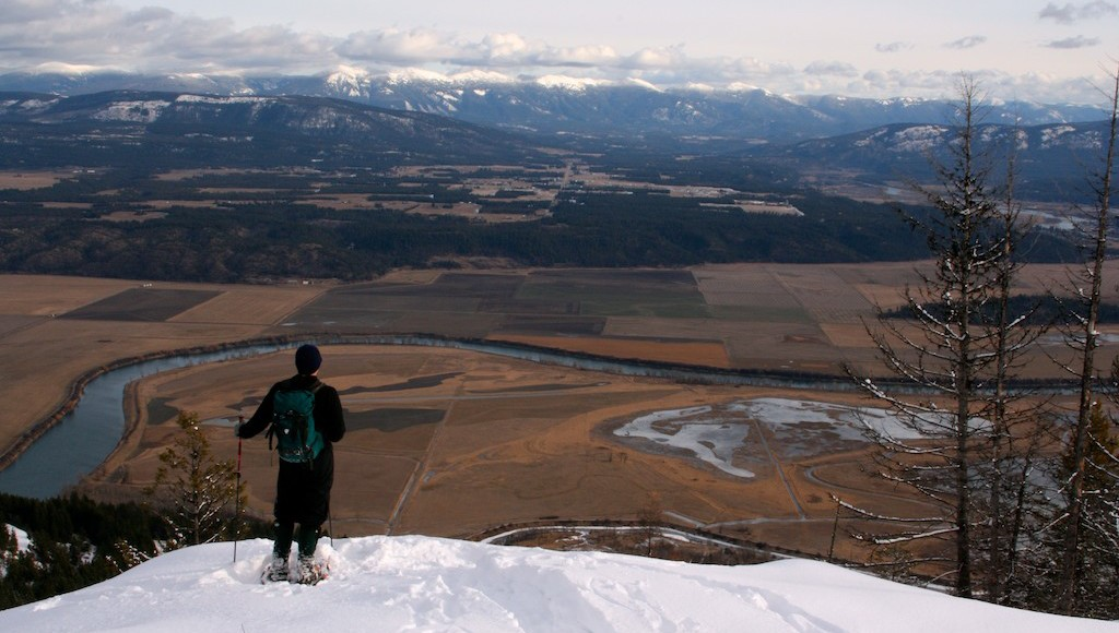 Challenge yourself to get outside more this winter
